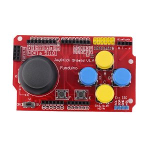Modulo Joystick Shield v1.a funduino para Arduino