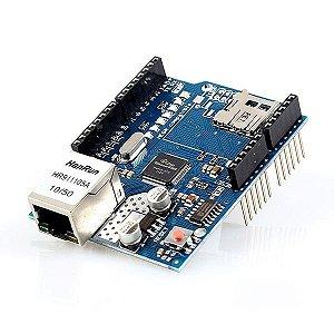 Módulo Ethernet (internet) Shield W5100 para arduino