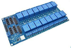 Módulo Relé 16 Canais 5v para Arduino