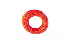 Fio Nylon p/ Roçadeira 2,65mm Redondo Uso profissional 15 metros