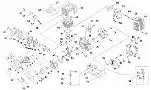 Peças De Reposição Perfurador de Solo Vulcan VPS520
