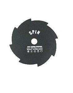 Faca / Lâmina Roçadeira 8 Pontas Furo 20mm 200mm