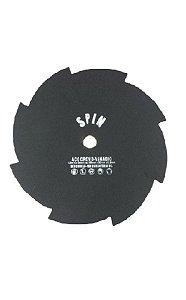 Faca / Lâmina Roçadeira 8 Pontas furo 20mm 1,5 mm 250mm