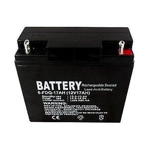 Bateria 17 Amp Gerador Vulcan VG6500 / VG7200 / VG8100