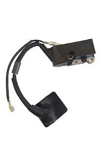 Bobina Ignição / Modulo Motosserra Tekna CS46 CS53 CS58