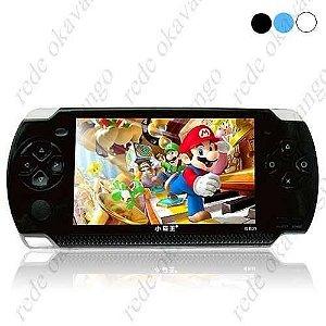 PSP 1 midia player camera 2.0 MP5 Multi-funcional, com tela de 3 Polegadas de LCD