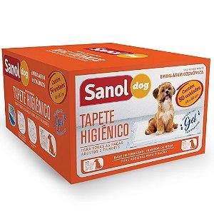 Tapetes Higiênicos Para Cachorro Sanol Dog Com 50 Un.