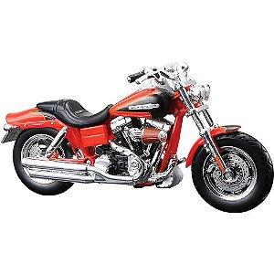 Miniatura Harley-Davidson 2009 FXDFSE CVO Fat Bob Série 28