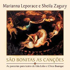 SÃO BONITAS AS CANÇÕES - Marianna Leporace e Sheila Zagury
