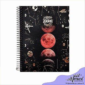 Caderno Colegial Espiral Zodiac Merci Unidade