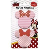 Bloco Adesivo Minnie Mouse