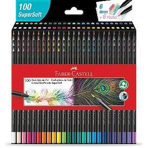 Lápis Cor 100 Cores Ecolapis Supersoft Faber Castell