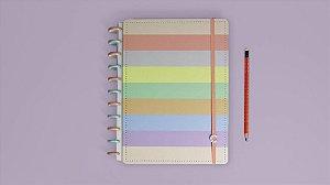 Caderno Inteligente A5 Arco Iris