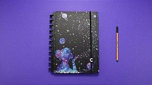 Caderno Inteligente Grande By Gocase Poeira nas estrelas