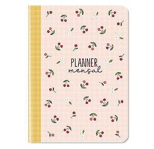 Planner Mensal Cerejinha Cartões Gigantes