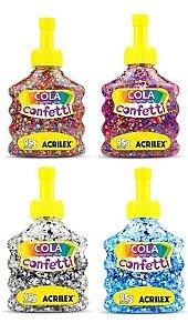 Cola Confetti 95g Acrilex Unitário