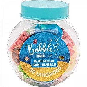 Borracha Mini Bubble Pote 20 unidades