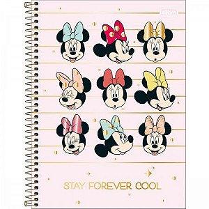 Caderno  Minnie Mouse 1 materia Tilibra Unitario