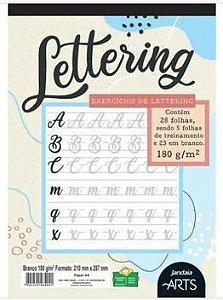 Bloco Lettering Jandaia 180g