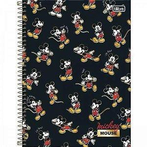 Caderno Universitário 1 Matéria Mickey Tilibra