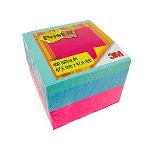 Bloco Adesivo Post-it Cubo