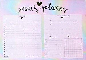Planner Mesa Meus Planos Papelote