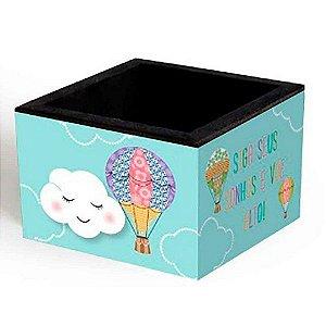 Porta Clips Nuvem e Balão Fina Ideia