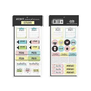 Adesivo para Planner Cartões Gigantes