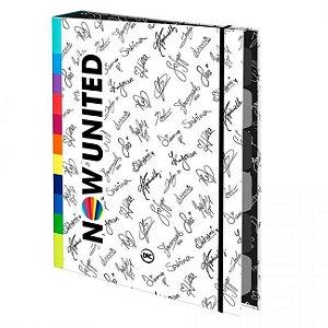 Caderno Argolado Now United c/ Elástico DAC