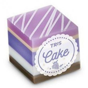 Borracha Tris Cake Lilas