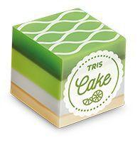 Borracha Tris Cake Verde