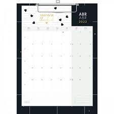 Calendario Planner Prancheta West Village 2022