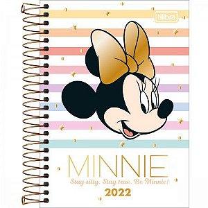 Agenda Minnie 2022 Capa 2 Tilibra