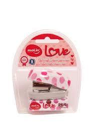 Mini grampeador Love Molin