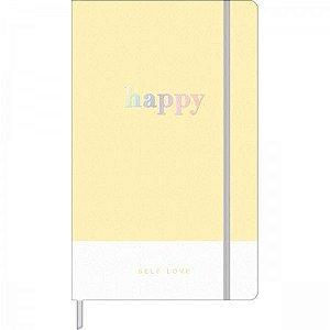 Caderno pontilhado Happy Tilibra