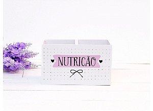 Porta Lapis Nutrição Papelote