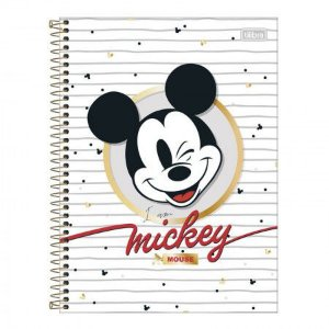 Caderno Mickey 1 Materia Tilibra