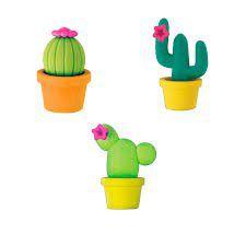 Borracha Cactus Goma Tilibra Unidade