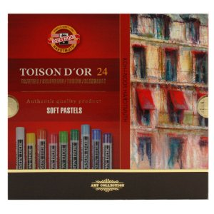 Giz Pastel Seco Koh-I-Noor 24 Cores