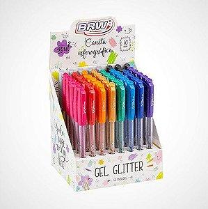 Caneta Glitter Gel BRW
