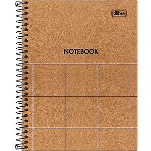 Caderno Capa Dura Colegial Kraftwork 1 Matéria 80 Folhas