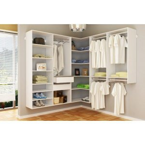 Closet Completo Em L 02 - Supercloset