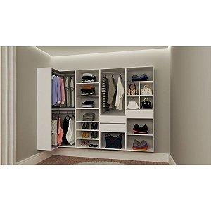 Closet Completo - Em L 35 - Supercloset
