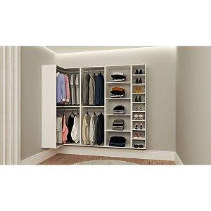 Closet Completo - Em L 36 - Supercloset