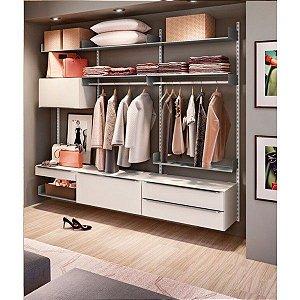 Closet Completo - Linha Move Com Largura 2,20cm - Supercloset