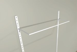 Cabideiro - Para Linha em Aramado - Supercloset