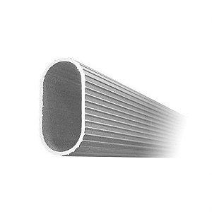 Tubo Cabideiro em Alumínio e Suportes