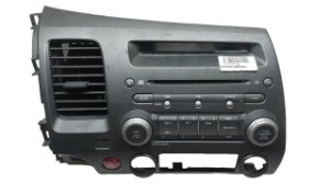 Radio Som Automotivo Honda Civic 2007/2011 Original 39100SNJM03