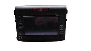 Radio Multimídia Honda Crv 2012/2013 Original 39540T0AM52
