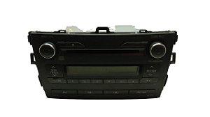 Radio Som Toyota Corolla 2008/2014 Original 8612002e80